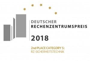 2. Platz des Deutschen Rechenzentrumspreises